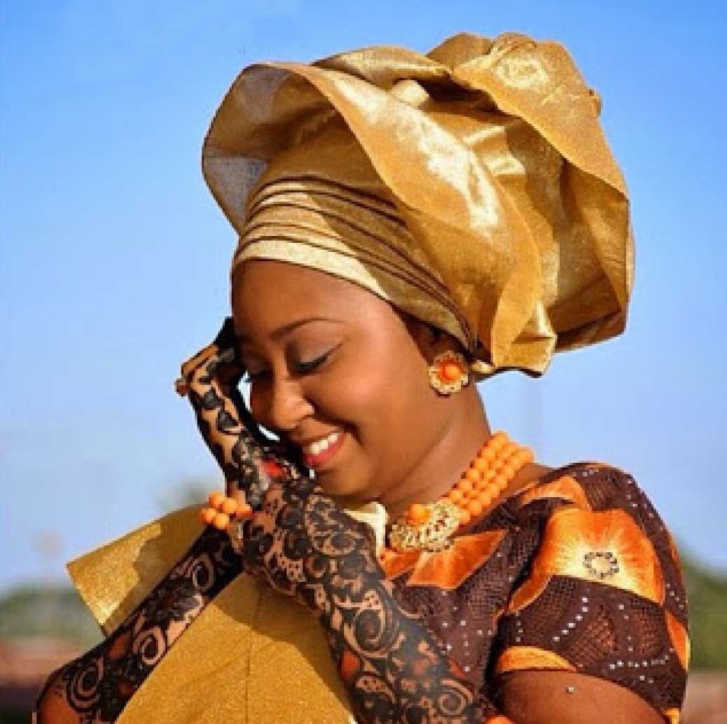 Henna Art On Nigerian Brides