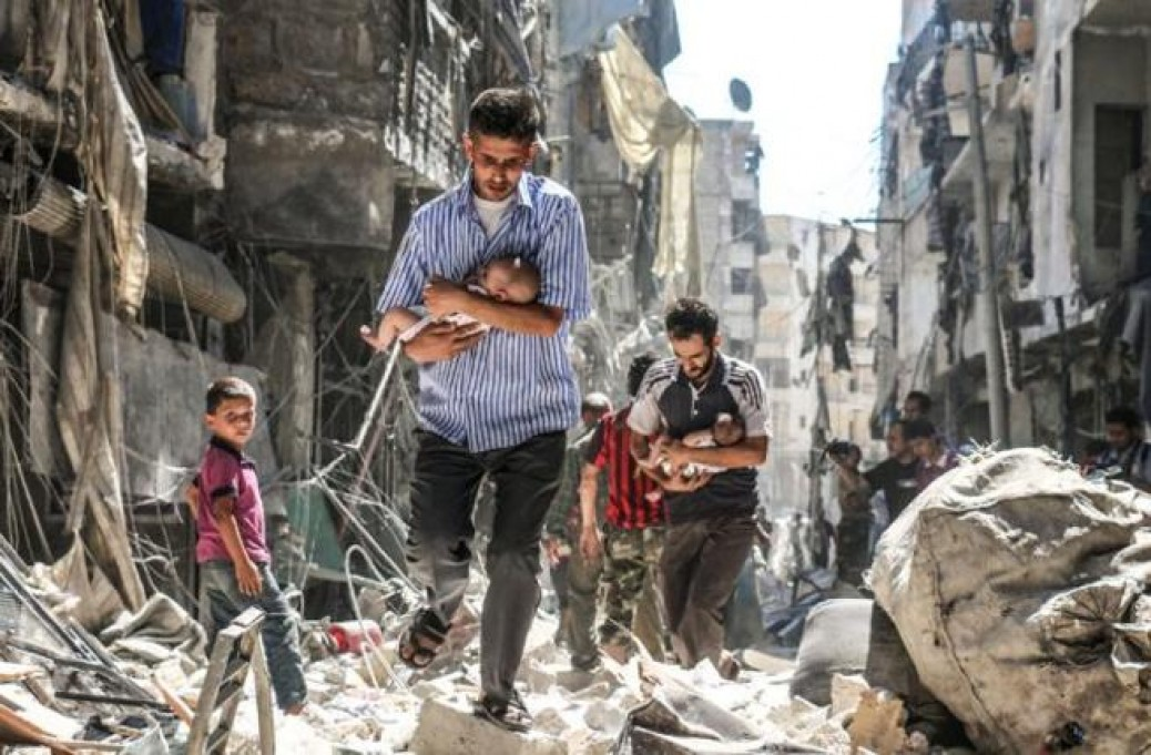 The Latest Coordinated Zionazi Chemical False-flag Attack and Airtrikes Against Syria To Support Terrorist Groups are New Crimes